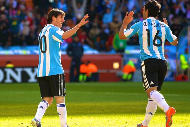 Sergio Aguero and Lionel Messi Are Argentina's Ticket to World Cup Glory
