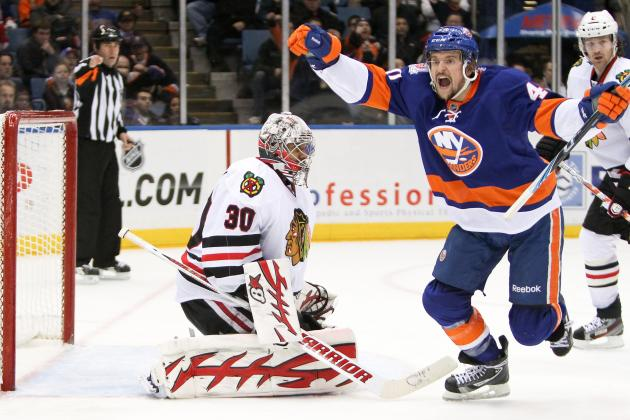 ESPN Gamecast: Islanders vs. Blackhawks