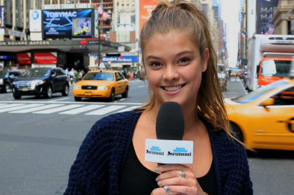 Sports Illustrated Swimsuit Model Nina Agdal Tests New Yorkers' NBA Knowledge