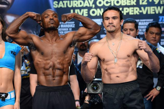 Bradley and Marquez Make Weight Ahead of Welterweight Title Clash