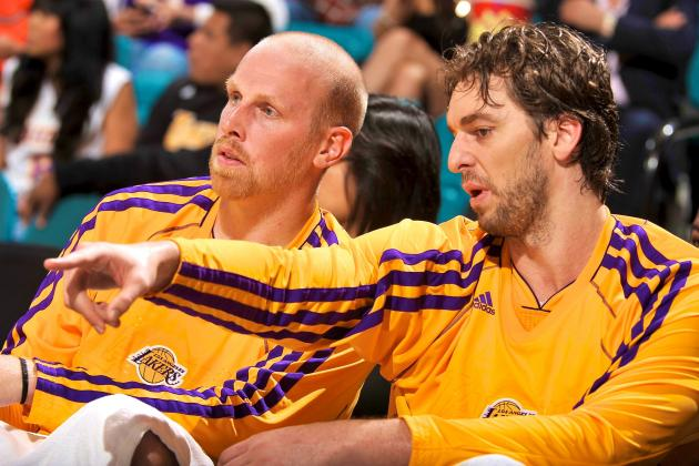 Why LA Lakers Best Bet Is to Start Pau Gasol and Chris Kaman Together