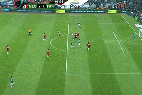 Watch: Mexico's Insane GW Bicycle Kick