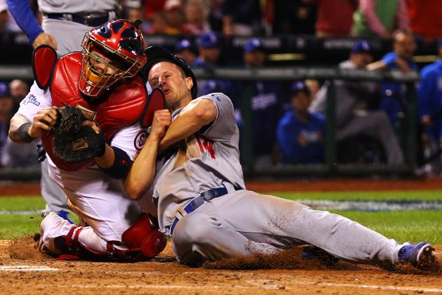 Watch Carlos Beltran Make Fantastic Throw to Save NLCS Game 1 for Cardinals