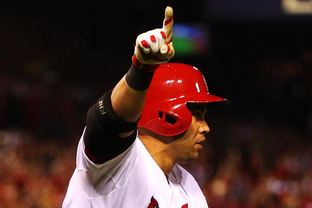 Post-Season Legend Carlos Beltran Helps the Cardinals Walk off