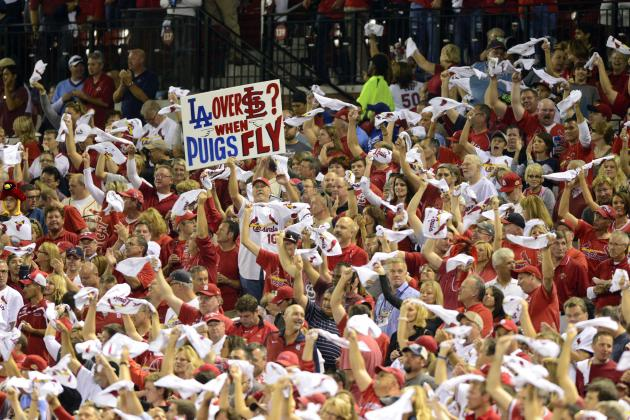 GAME ENDING AUDIO: NLCS Game 1, Cardinals Win in Busch
