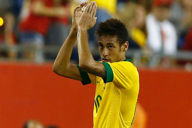 GIF of Neymar's Free-Kick Goal for Brazil Against South Korea
