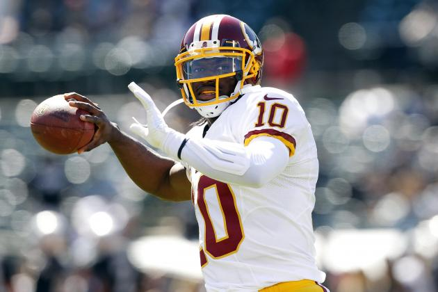 Robert Griffin III Will Right the Ship with Dominant Showing vs. Dallas Cowboys