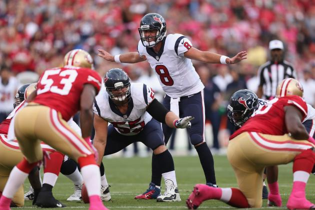 Matt Schaub 'Still Has Respect' of Texans Teammates