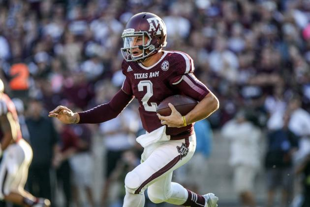 Johnny Manziel Must Be a More Aggressive Runner Against Ole Miss