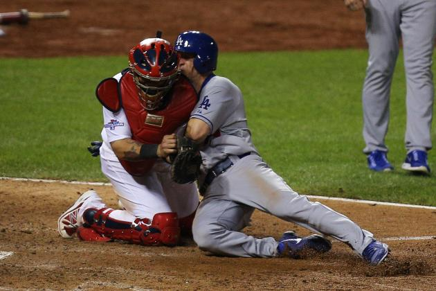Beltran Saved NLCS Game 1 with Stellar Defensive Play: Did Molina Tag Ellis?