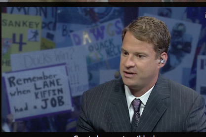 Hey, Lane Kiffin Shows on GameDay he Might have a Future as a TV Analyst