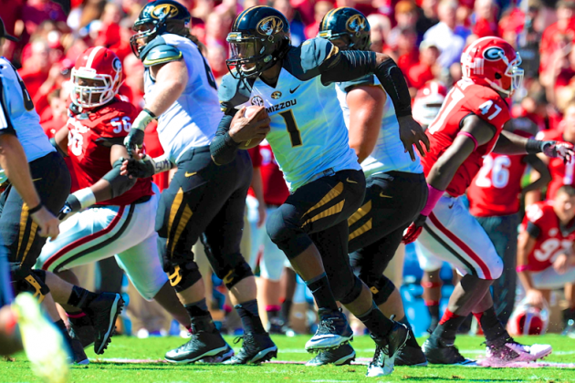 Missouri vs. Georgia: Live Score and Highlights