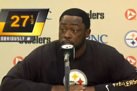 Pittsburgh Steelers Coach Mike Tomlin 'Obviously' Has a Favorite Word