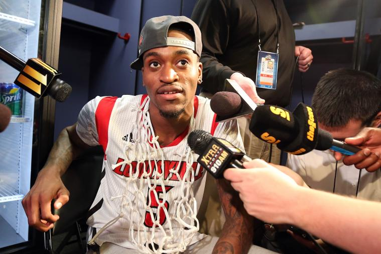 Louisville's Kevin Ware Shows off Scar from His Devastating Injury