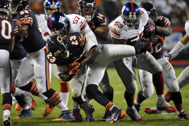Key Plays (Besides the INTs) That Led to the NY Giants Loss vs. Chicago