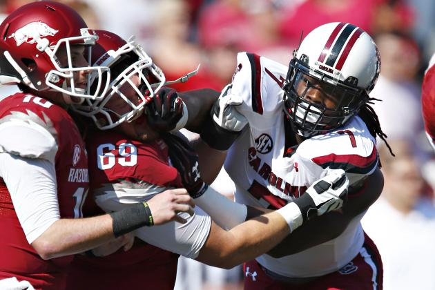 Jadeveon Clowney's Updated 2014 NFL Draft Stock After Win over Arkansas