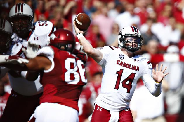 Connor Shaw Proves He Is Most Critical Player for Gamecocks in Win over Arkansas