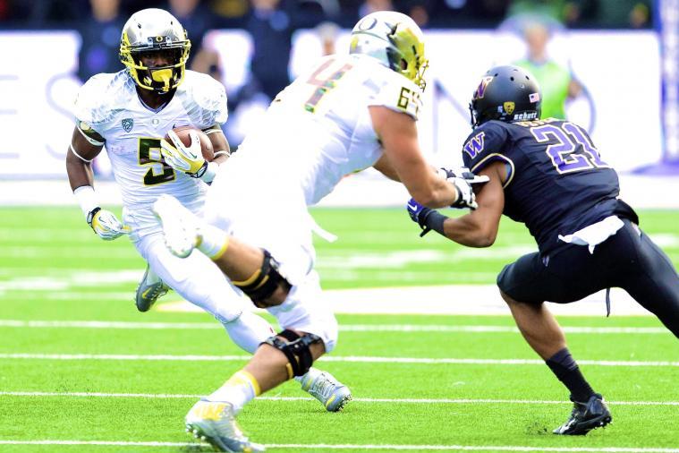 Oregon vs. Washington: Live Score and Highlights
