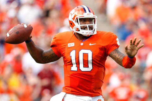 Tajh Boyd Is Now Clemson's  All-Time Leader in Passing Yards