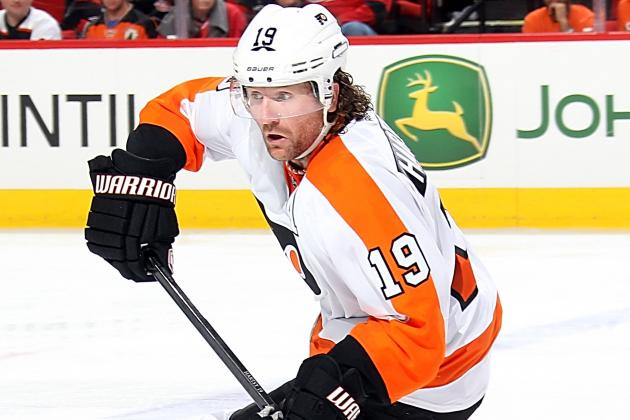 Flyers Injury Update: Hartnell out 2-4 Weeks, Lecavalier Still for Aweek