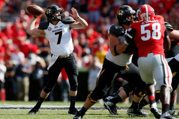 Meet Maty Mauk: Can Missouri QB Keep Tigers in SEC Title Hunt?