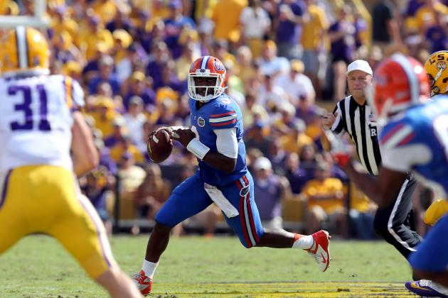 Florida vs. LSU: Tyler Murphy Hung out to Dry by Rest of Offense