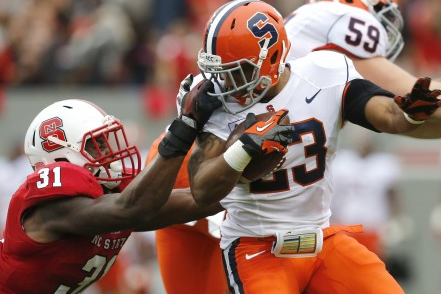 Syracuse Beats NC State 24-10 in 1st ACC Road Game