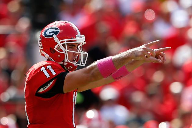 Breaking Down Record-Breaking QB Aaron Murray as a 2014 NFL Draft Prospect