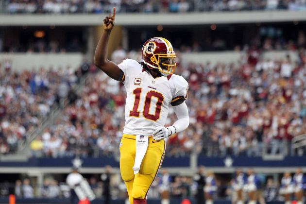 Robert Griffin III and Redskins Will Take Advantage of Reeling Cowboys