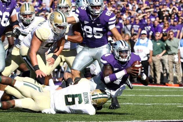 No. 15 Baylor vs. Kansas State: Bears Hold on for a Grueling 35-25 Win