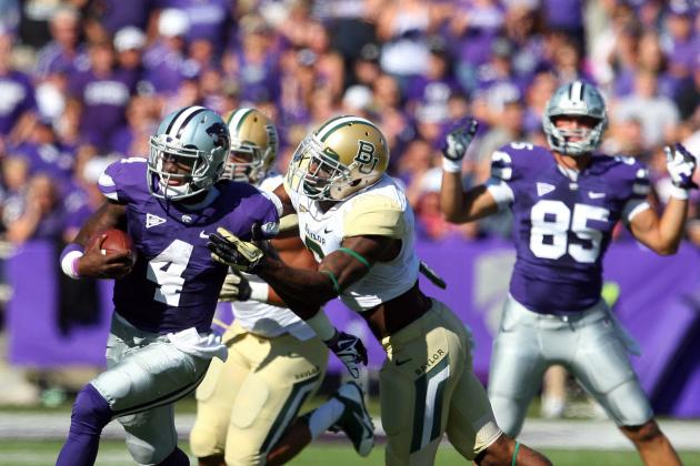 Baylor Overcomes off Day, Survives Scare at K-State