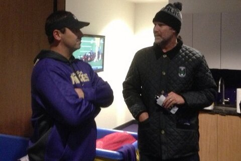 Washington Huskies Receive Pregame Visit from Will Ferrell Before Oregon Game