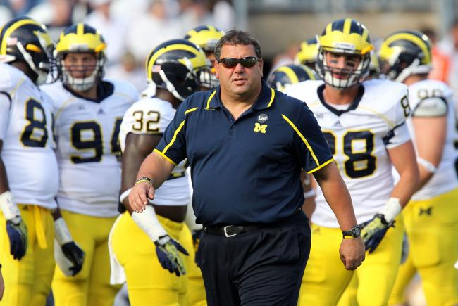 Michigan is in danger of losing its first game of 2013.