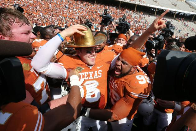 Texas Football Gets Tough, Finally Finds Offensive Identity