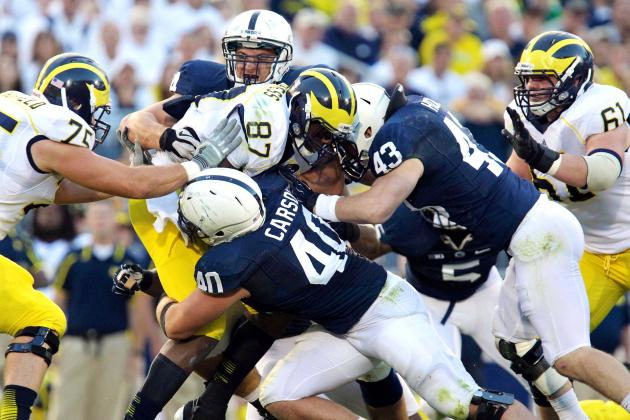 Michigan vs. Penn State: Live Score and Highlights