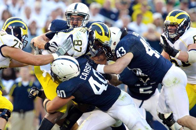 Michigan vs. Penn State: Score, Analysis for Nittany Lions' Upset Win in 4OT