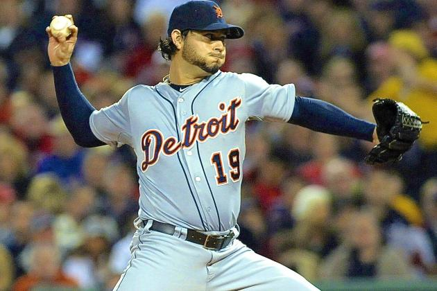 Detroit Tigers vs. Boston Red Sox Game 1: Live Score and ALCS Highlights