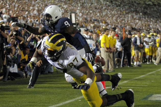 Michigan vs. Penn State: Brady Hoke Gives Game Away with Bad Play-Calling