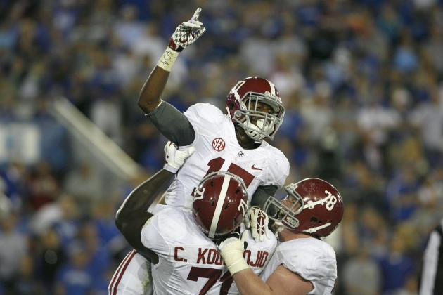Alabama vs. Kentucky: Tide's Ground and Pound Hitting Stride at Right Time