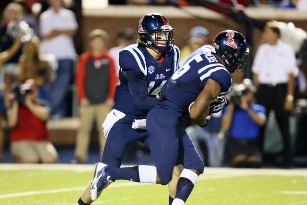 Texas A&M vs. Ole Miss: Despite Loss, Rebels' 2-QB System Worked