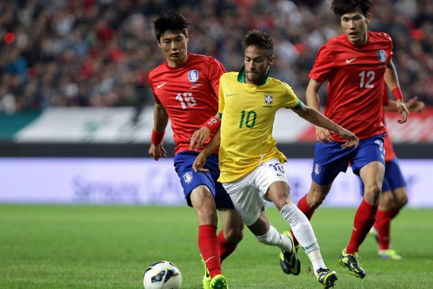 Neymar and Oscar Guide Brazil to Korea Win, but Hulk Problem Remains