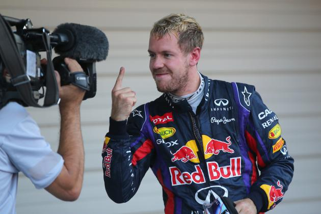 Vettel Closes on Title with Suzuka Victory