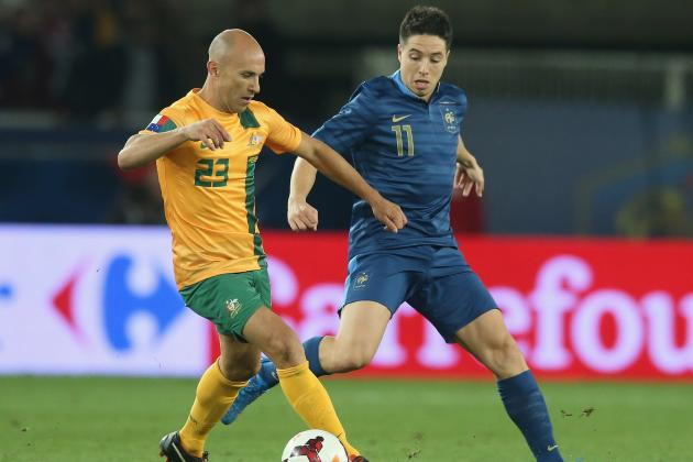Why Samir Nasri Is Becoming Integral to France 2014 World Cup Hopes