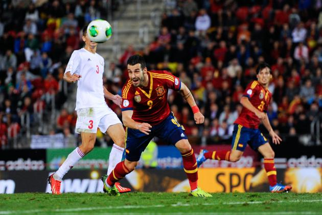 Could Alvaro Negredo and Victor Valdes Be Starters for Spain at 2014 World Cup?