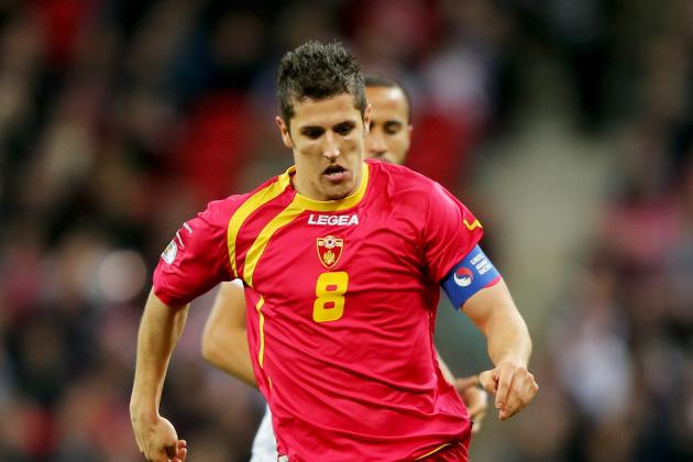 Breaking Down Stevan Jovetic's Performance vs. England