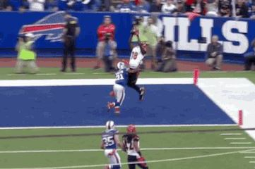 Bengals' A.J. Green Makes Impressive TD Catch Against Bills