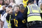 Michigan Fan Gets Maced by Police at Penn State Game