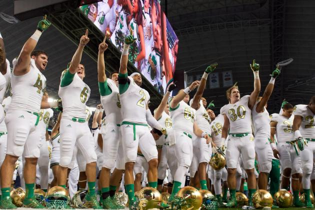 Is Notre Dame Two Wins over Pac-12 Teams from a BCS Bowl?