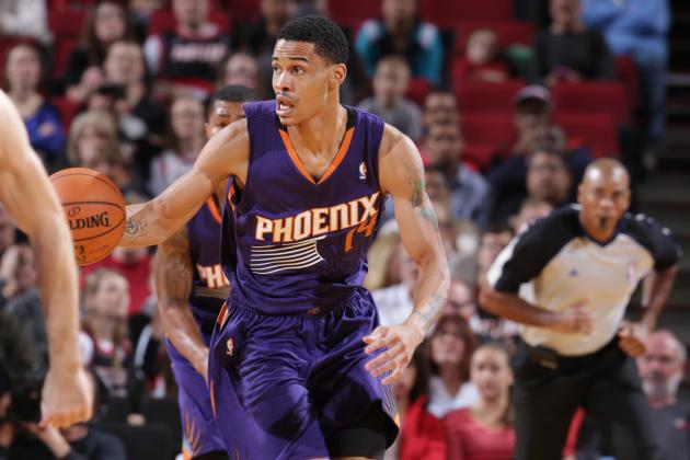 Gerald Green Soars for Two-Handed Hammer Dunk Against Spurs