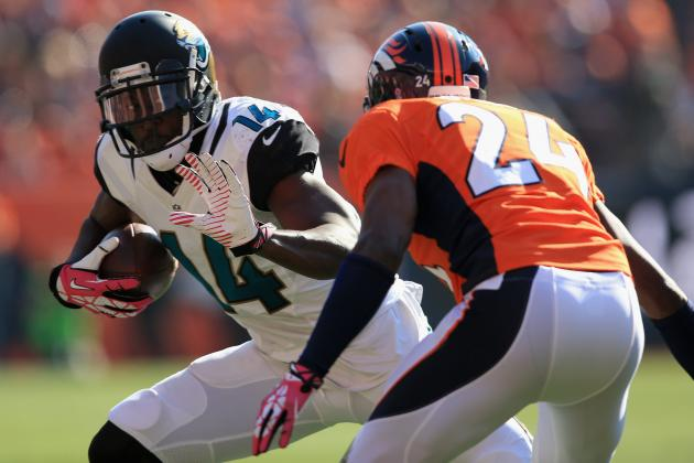 Justin Blackmon vs. Mike Brown: Fantasy Outlook After Cecil Shorts' Injury